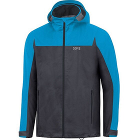 GORE WEAR R3 Gore-Tex Active Hooded Jacket Men black/dynamic cyan